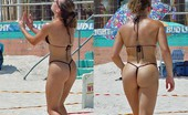 Candid Beach Thongs and G-Strings