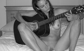 Guitar Dildo Girl