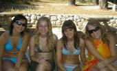 Topless Beach Teens