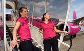 Flight Attendants Misbehaving