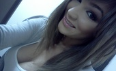 Very Pretty Brunette Self Poser