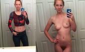 Hairy Redhead Selfies