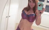 Curvy Redhead Underwear Babe