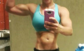 Crazy Workout Chick Selfies