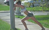 Teen Sportsbra Spandex Runner
