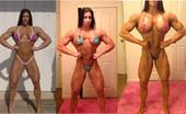 Angela Salvagno Bodybuild Selfies