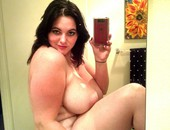 Pretty Brunette Enormous Naturals Wow