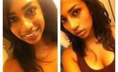 Selfie Brown Gal Najma