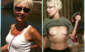 Mature MILF Dressed Undressed