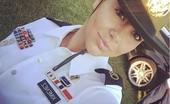 Gabby Military Selfie NN Tease