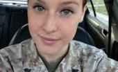 Huge Tits Military Babe