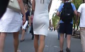 VTL Teen White Dress